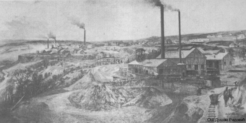 Адолф Кауфман, борски рудник